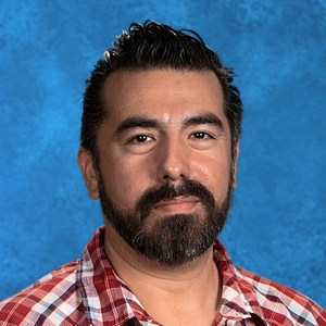 Henry Martinez teaches visual arts at Garden Grove High School. (Photo courtesy of Garden Grove High School)