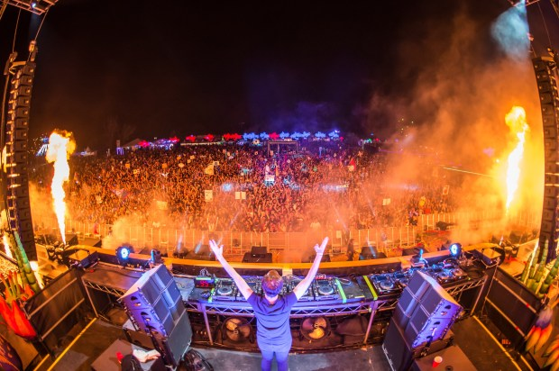 This photo was taken during the 2016 iteration of electronic dance music festival Nocturnal Wonderland. More than 34 arrests were made on the first day of Nocturnal Wonderland 2017 (Courtesy of Insomniac Communications)