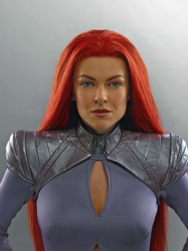 """Marvel's Inhumans"" stars Serinda Swan as Medusa."