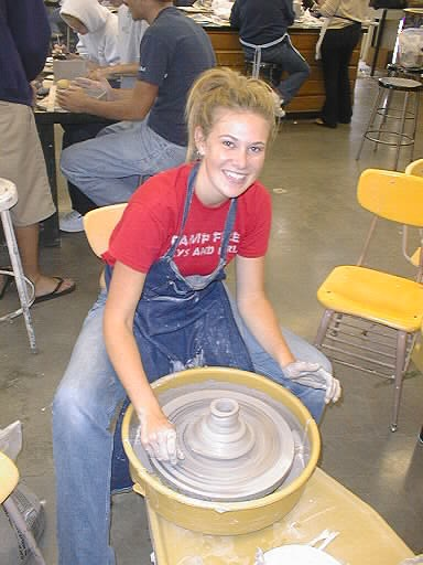 Jennifer Sievers teaches ceramics, and arts and crafts at Pacifica High School. (Photo courtesy of Pacifica High School)