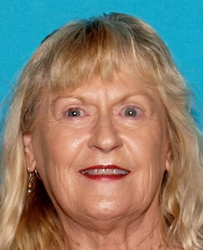 Jolene Rooker, 71, of Calimesa, was reported to have gone missing Sunday, Sept. 10, 2017, in Yucaipa. She was found Monday evening after a daylong search. (Photo courtesy of San Bernardino County Sheriff's Department)