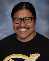 Jose Reyes teaches digital arts, animation, and art history at Canyon High School. (Photo courtesy of Canyon High School)