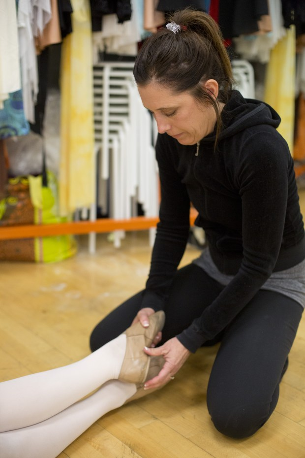 Judy Scialpi teaches dance at Northwood High School. (Photo by Drew A. Kelley, contributing photographer)