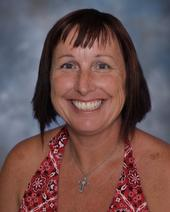 Kathy Flanagan teaches visual arts at Canyon High School. (Photo courtesy of Canyon High School)
