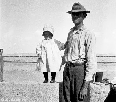 Walter Knott in the Mojave Desert. (Courtesy photo)