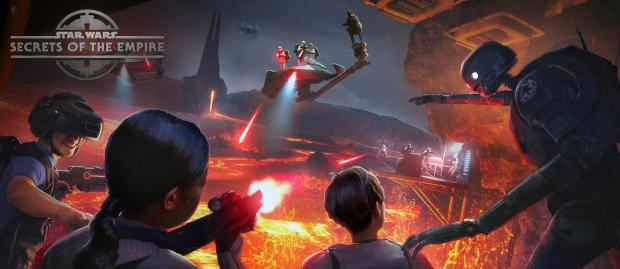 Disneyland Resort's first VR experience by Lucasfilm and The Void is called Star Wars: Secrets of the Empire. The VR experience will open Jan. 5, 2018 at Downtown Disney in Anaheim. (Courtesy: The Void)
