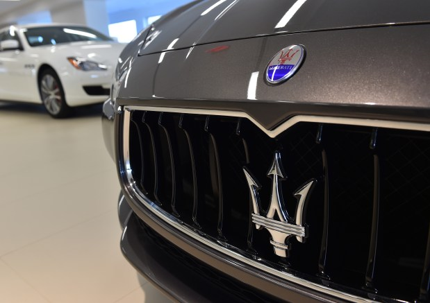 Grand opening of new Rusnak Maserati dealership at 22717 Hawthorne Blvd in Torrance.Photo by Robert Casillas / Daily Breeze