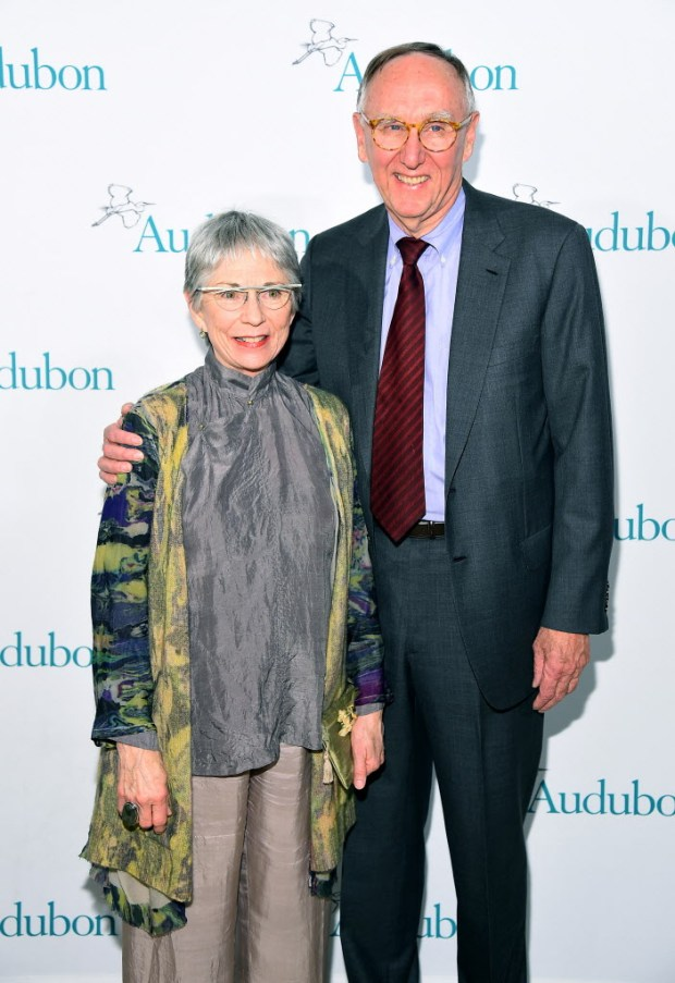 No. 200: Jack and Laura Dangermond, 72, of Redlands worth $3.7 billion from mapping software. (Photo by Michael Loccisano/Getty Images for The National Audubon Society)