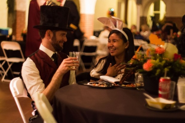 Guests at the 2016 Mansion Masquerade at the Burrage Mansion in Redlands. (Courtesy Photo)