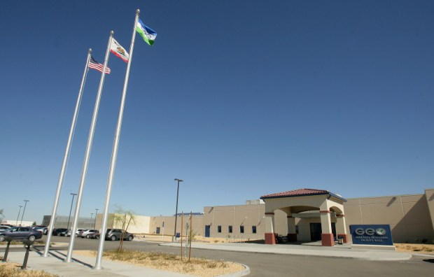 The U.S. Immigration and Customs Enforcement's Adelanto Detention Facility is the largest immigration detention center in the Southern California area.