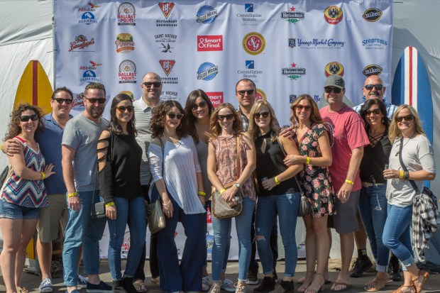 Beach, Brews and BBQ is an annual beach-themed event that supports the Cystic Fibrosis Foundation. (Photo by Alexander Gilmaker-Isawa)