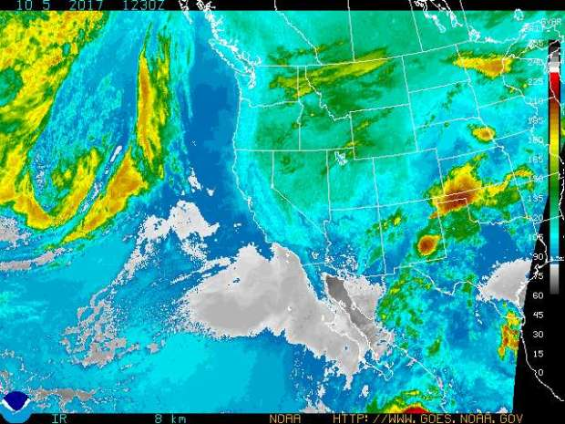 California Weather Map Satellite.Southern California Weather Turning Hotter But Cooldown Is On The
