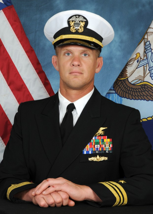 Cmdr. Seth A. Stone (Photo courtesy of Naval Special Warfare Command)