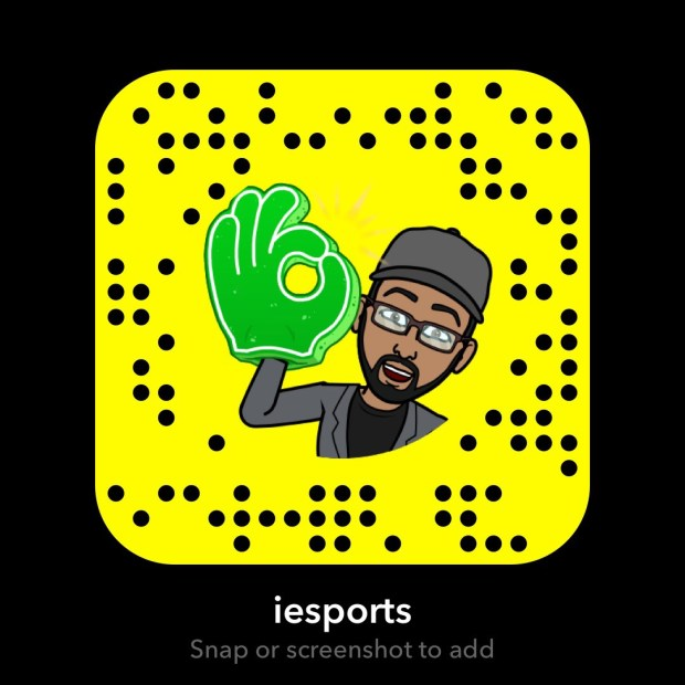 Follow along for updates on Snapchat at IEsports