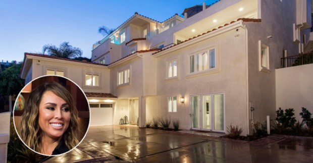 """Real Housewives of Orange County"" cast member Kelly Dodd and her Corona del Mar house. (File photo and composite)."
