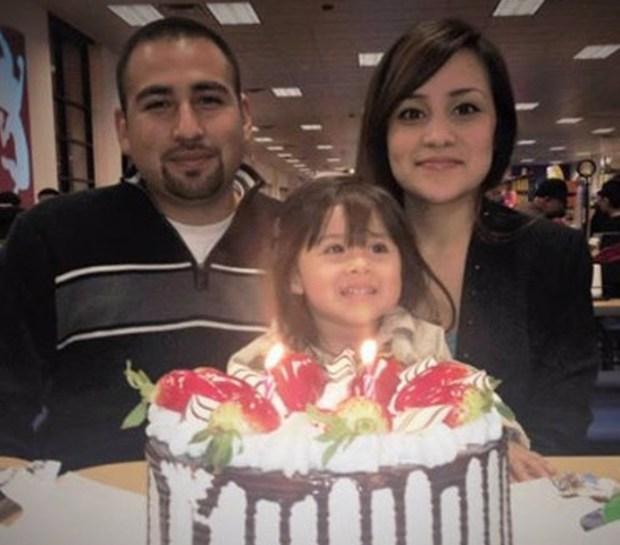 Luis Anaya, Carina Mancera and their daughter Jennabel Anaya. (Courtesy)