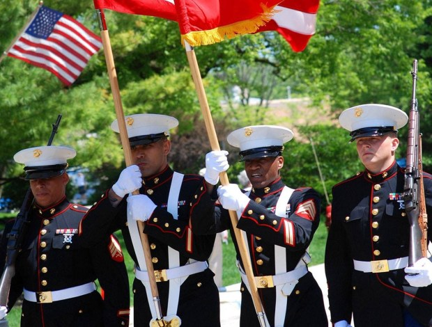 Current and retired United States military personnel may visit Knott's Berry Farm with a guest for free during Military Tribute Days. (Photo courtesy of Knott's Berry Farm).