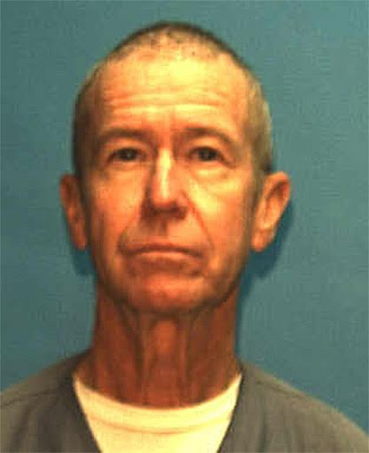 This undated photo shows Steven W. White, now 67 and serving a life sentence in Florida for the killing of a Florida man in 1987. He pleaded guilty Thursday, Oct. 19, to killing a Santa Ana dentist in 1986.