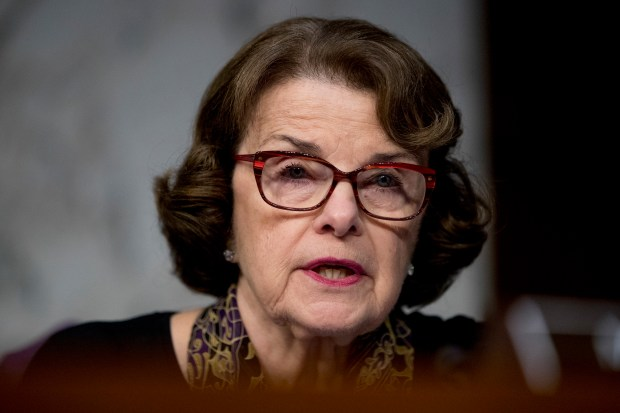Sen. Dianne Feinstein, D-Calif. (AP Photo/Andrew Harnik)