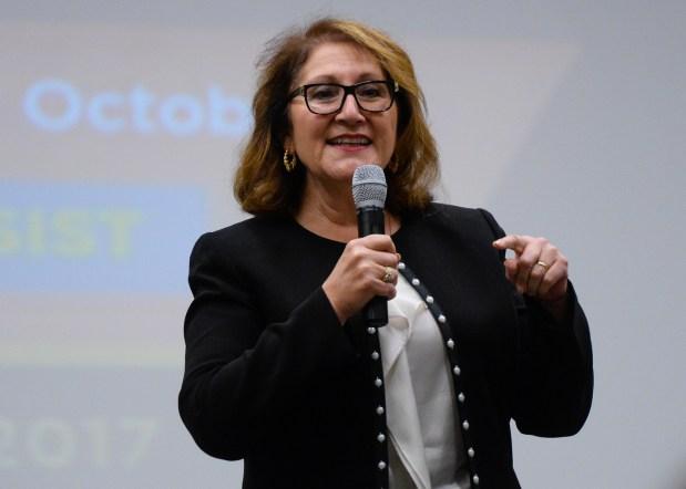Assemblywoman Eloise Reyes, D-Grand Terrace.