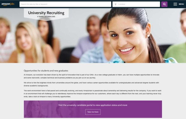 Applying to go to college? Chances are you'll be doing it online. (Web screenshort/staff photo)