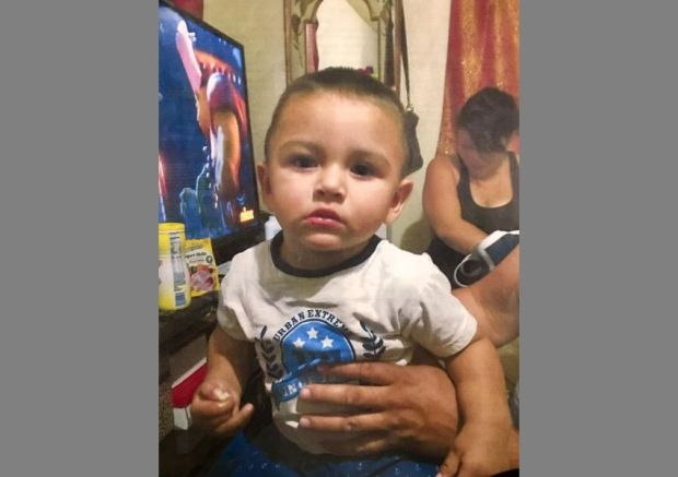 The alleged abduction of 15-month-old Noe Reyna by his father Carlos Reyna, 35, has led to an Amber Alert. The boy was taken from Boyle Heights. (Photo courtesy of the LAPD)