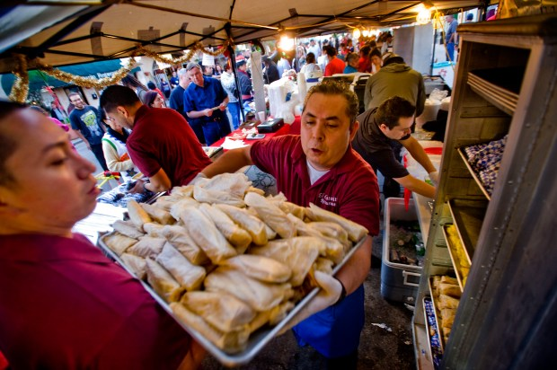 Placentia holds its annual Tamale Festival in the streets fo Old Town on Dec. 6. (File photo by Paul Rodriquez, Orange County Register/SCNG)