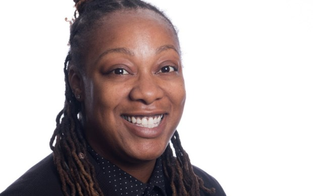 Sharrica Miller, Cal State Fullerton assistant professor of nursing, conducts research in adolescent/young adults and their health and well-being. (Photo courtesy of Cal State Fullerton)