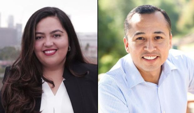 Wendy Carillo and Luis Lopez are vying Tuesday, Dec. 5, 2017, for the open Assembly District 51 seat that represents East L.A., Chinatown, Echo Park, Silver Lake, Highland Park and Eagle Rock. (Courtesy photos)