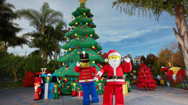 LEGOLAND offers several holiday deals and decorates the park at this time of year.(Photo courtesy LEGOLAND)