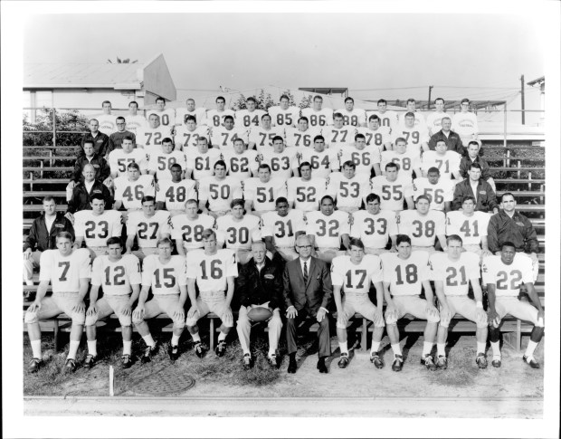 1967 USC football team that one a national championship. (Photo courtesy of USC)