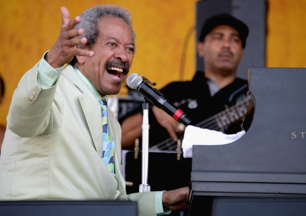 NEW ORLEANS - MAY 6: Allen Toussaint performs at the New Orleans Jazz and heritage Festival on May 6, 2007 in New Orleans, Louisiana. (Photo by Sean Gardner/Getty Images)