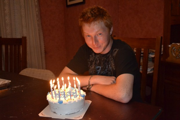 Matthew Maniace on his 19th birthday in 2015, the last birthday his family got to spend with him. (Photo courtesy of the Maniace family)