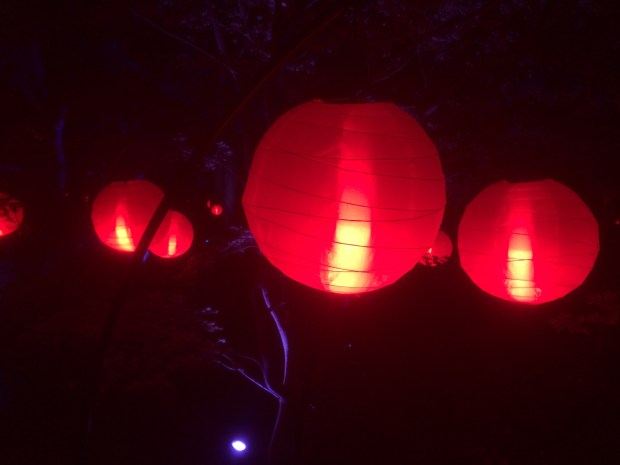 Red Lanterns in the Garden of Good Fortune.