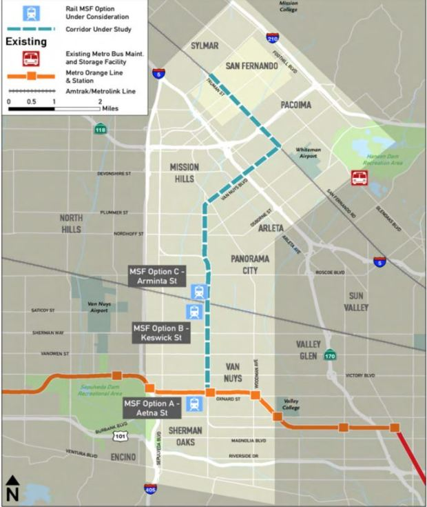 Valley leader sides with Orange Line-area businesses against Metro's