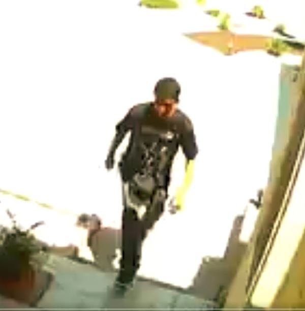 Covina police say they have identified the young man pictured in this surveillance photo during the alleged theft of a package on Aug. 2, 2017. (Courtesy, Covina Police Department)