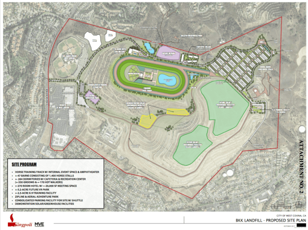 Singpoli Group LLC presented the public with a proposed site plan at the West Covina City Council meeting Nov. 7, 2017. (Courtesy of the City of West Covina)