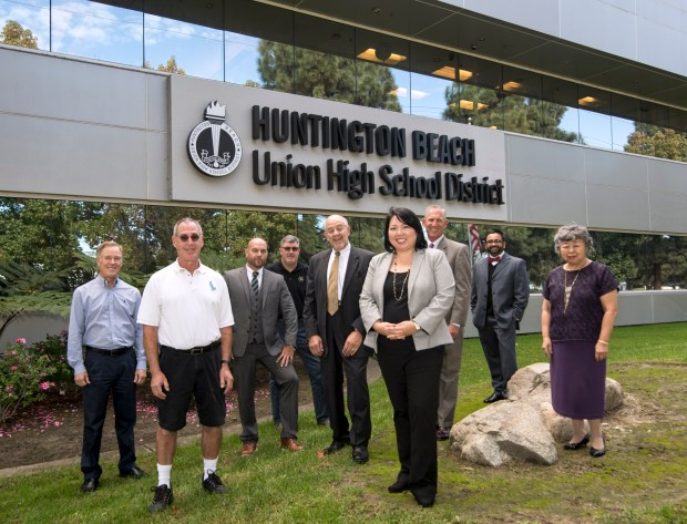 Huntington Beach Union High School District has been chosen as one of the top workplaces. (Photo by Kyusung Gong/Contributing Photographer)