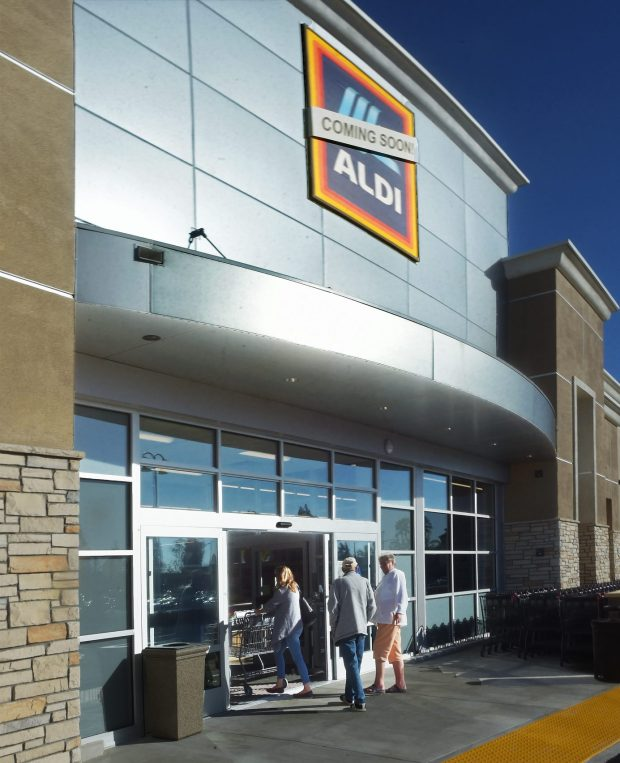Aldi's new supermarket in Glendora is set to open on Thursday. (Photo by Walt Mancini/Pasadena Star-News/SCNG)