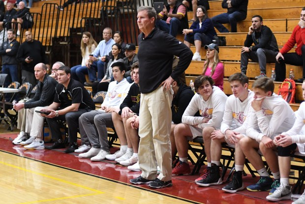 La Canada head coach Tom Hofman is a win away from recording his 700th career victory, which he can get on Friday when the Spartans take on South Pasadena. (Photo by Keith Birmingham, Pasadena Star-News/SCNG)