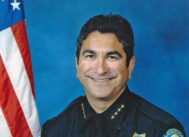 Glendale police Chief Robert Castro is retiring. (Courtesy photo)