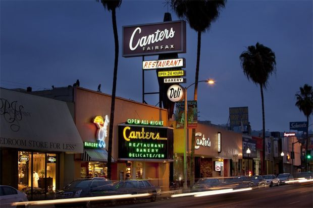 Canter's Deli is a Fairfax District institution. Gary Canter, the restaurant founder's grandson, died Tuesday, Dec. 26, 2017, of a heart attack. He was 58. (Photo courtesy of Canter's Deli)