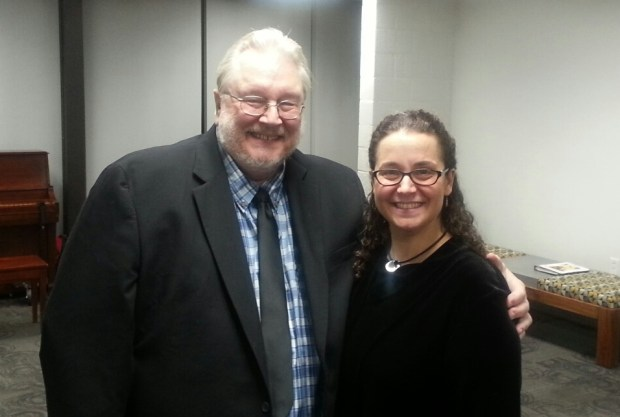 Kenneth Tuttle and Nicholle Andrews were guest conductors at the Clark County School District's Honor Choir concert in Las Vegas in October. (Courtesy Photo)