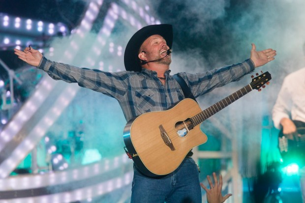 Country music megastar Garth Brooks will headline the third evening of the 12th annual Stagecoach Country Music Festival in Indio, which takes place Friday, April 27-Sunday, April 29. (Photo by Drew A. Kelley, contributing photographer)