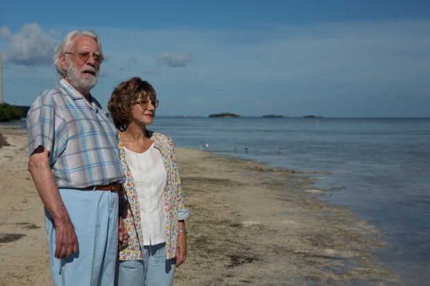 "Donald Sutherland and Helen Mirren in ""The Leisure Seeker."" Photo courtesy Sony Classics."