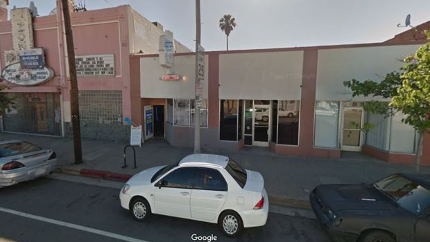 A man was shot in the leg late Wednesday, Dec. 20, 2017, during a robbery outside the Enigma bar at 1323 S. Pacific Ave. in San Pedro. (Google Street View)