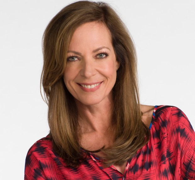 "Allison Janney, who plays Bonnie of the CBS series ""Mom"" and stars in the film ""I, Tonya."""