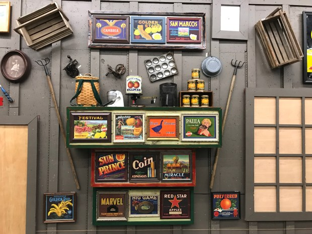 Cracker Barrel, a staple along highways in the South and Midwest, is known for decorating its restaurants with antiques that represent the local community. (Photos courtesy Cracker Barrel)
