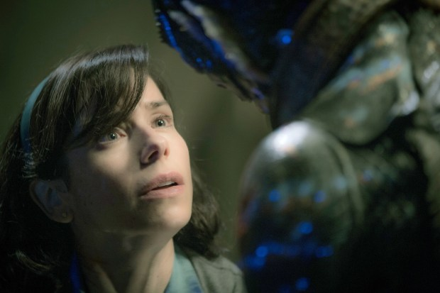 "Sally Hawkins in ""The Shape of Water."" Courtesy of Kerry Hayes, Fox Searchlight Pictures"
