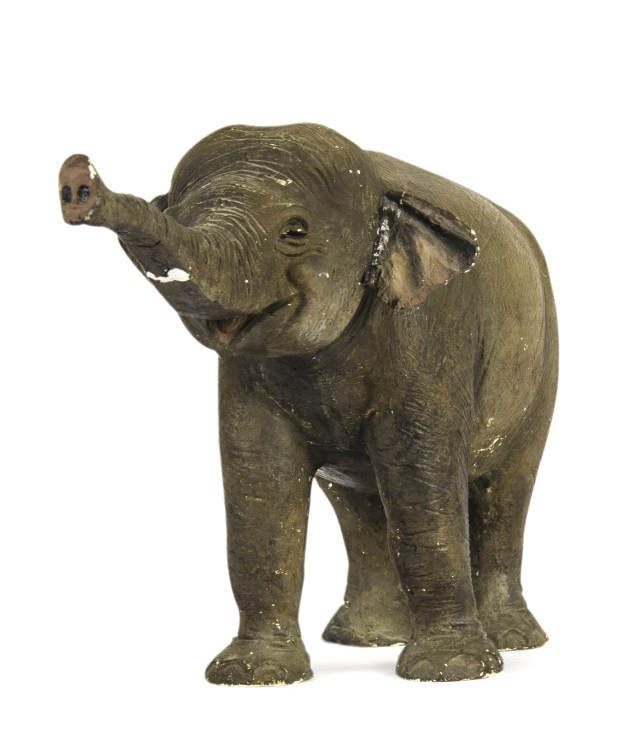 This original model for creation of the elephants on Disneyland's Jungle Cruise sold for $12,075 on Dec. 16, 2017. Photo courtesy of the Van Eaton Galleries, Sherman Oaks.